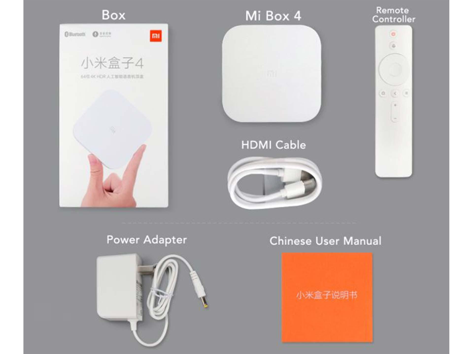 Kensoko com - Original Xiaomi Mi Box 4 Bluetooth Voice Control TV