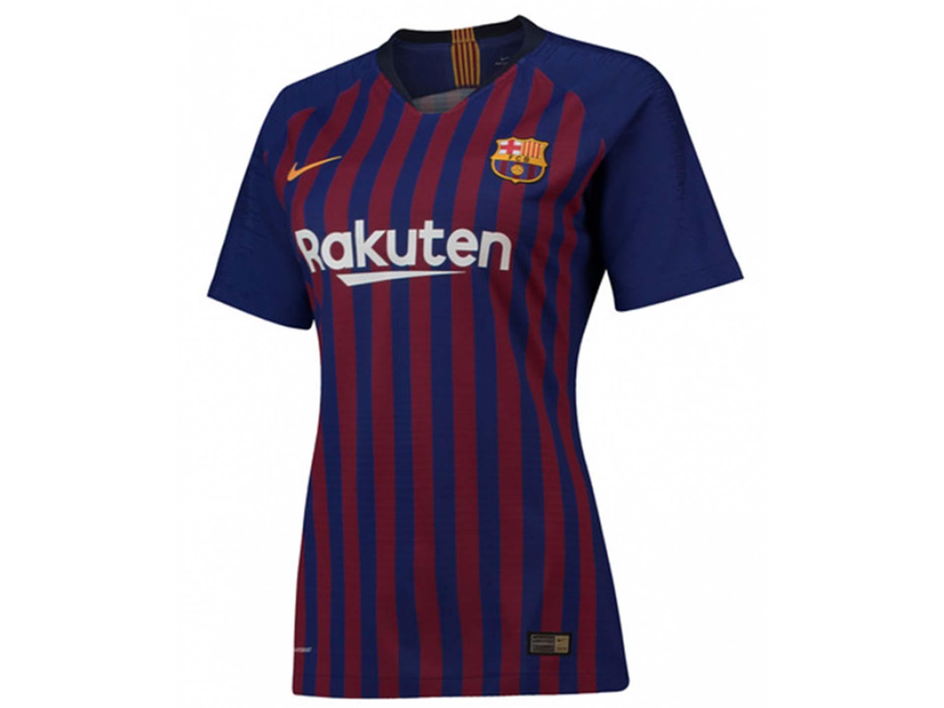 brand new 3e7e7 2c1e8 Kensoko.com - Replica Barcelona Home Shirt 2018-19 Womens Jersey